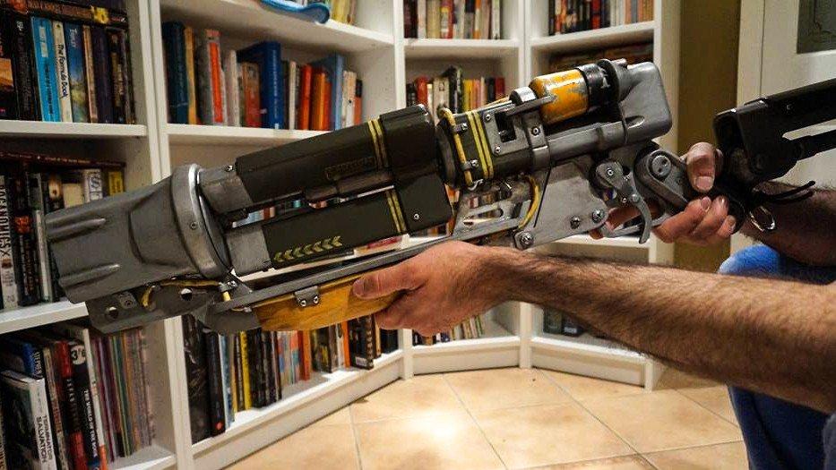 Fallout 4: Construyen el rifle láser en la vida real