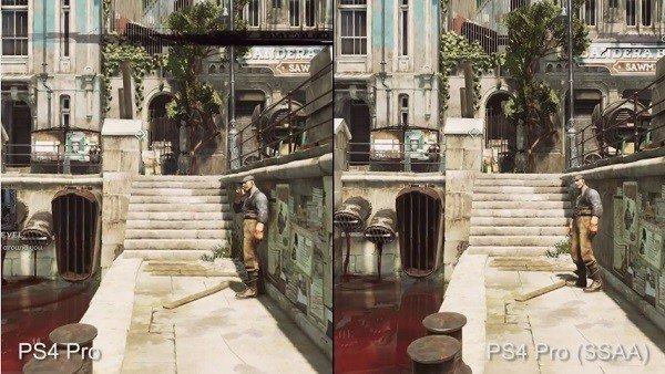 Dishonored 2: Comparan los gráficos de PlayStation 4 estándar y PlayStation 4 Pro