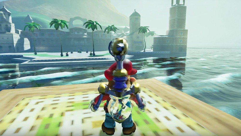 Super Mario Sunshine es recreado en Unreal Engine 4