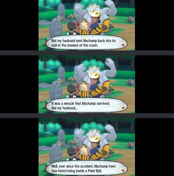 Pokémon Sol/Luna: Algunos momentos turbios llaman la atención de los jugadores