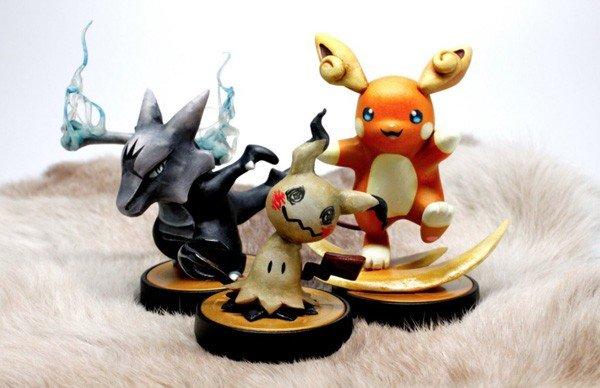 Pokémon: Los fans diseñan estos fabulosos amiibos