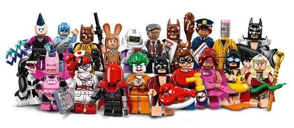 LEGO Batman: La Película presenta las figuras que saldrán a la venta