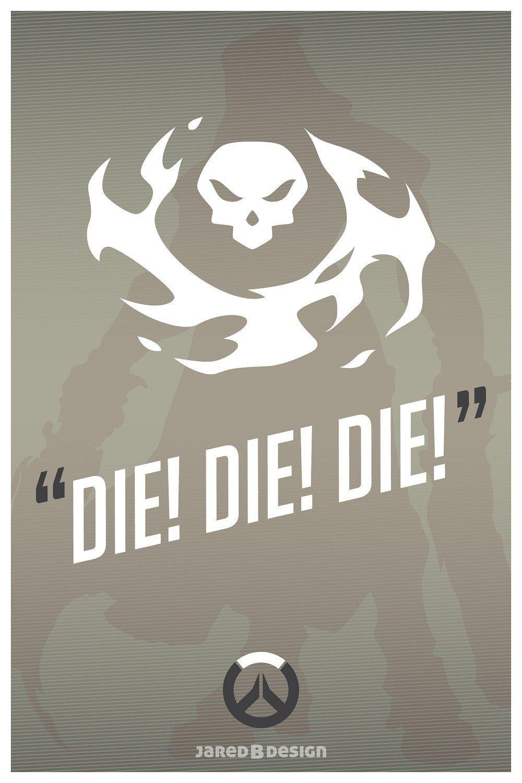 Overwatch: Pon la frase más característica de tu personaje como fondo de pantalla
