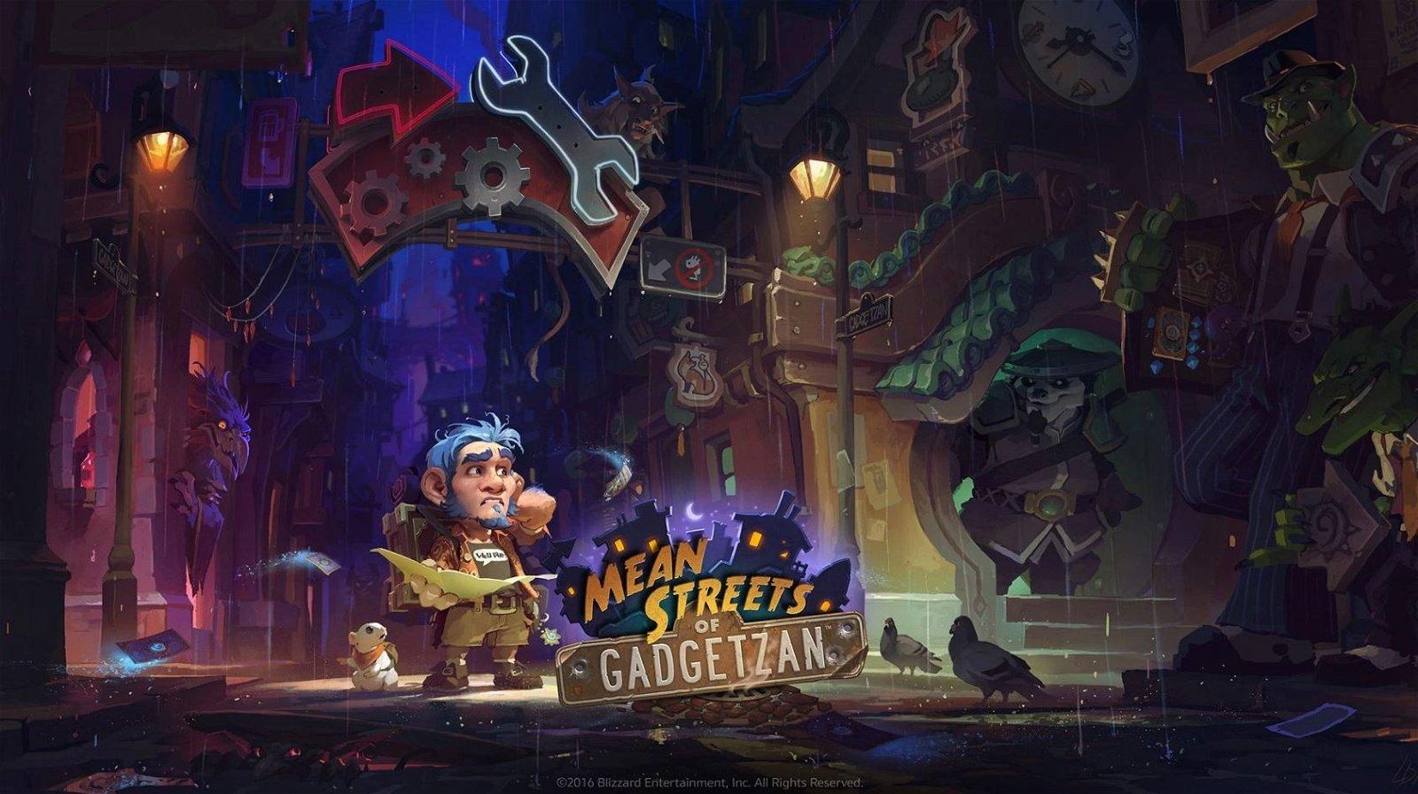 Hearthstone: Así es su nueva expansión, Mafias de Gadgetzan