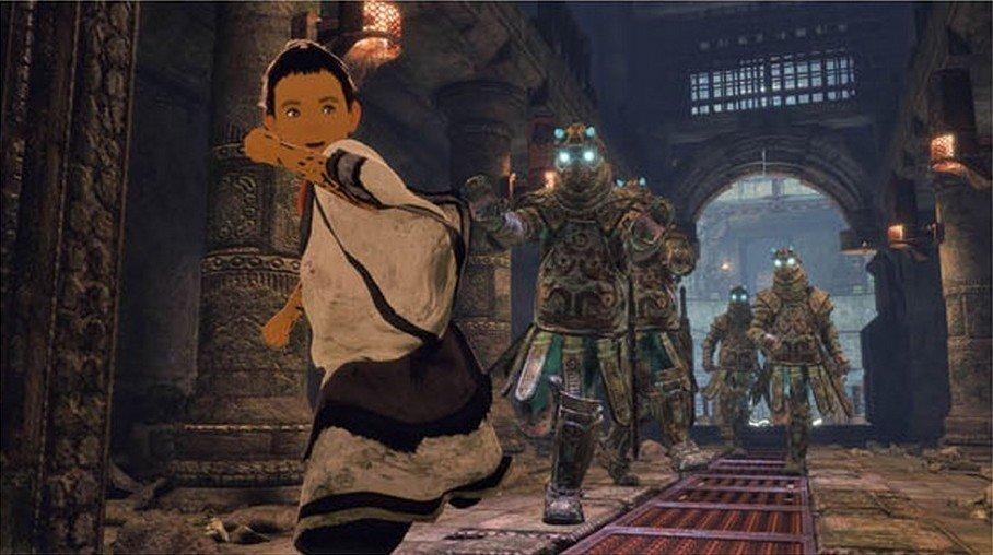 The Last Guardian: Se muestra una imagen del mapa completo del juego