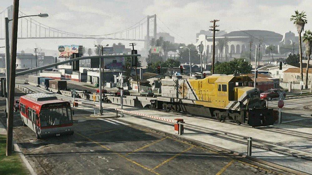Grand Theft Auto V: Los 7 mejores intentos de parar el tren del juego
