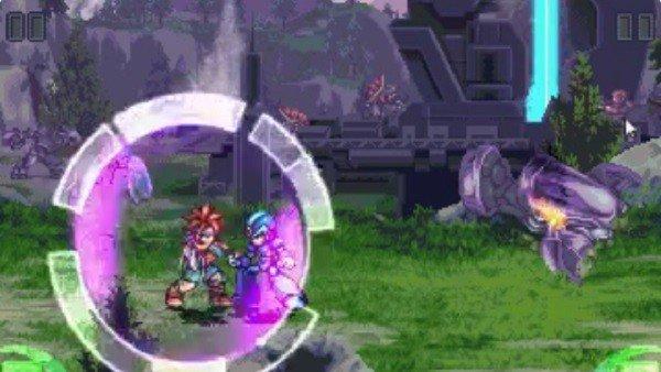 Mega Man recibe una paliza de Chrono y Marle gracias a este artista gráfico