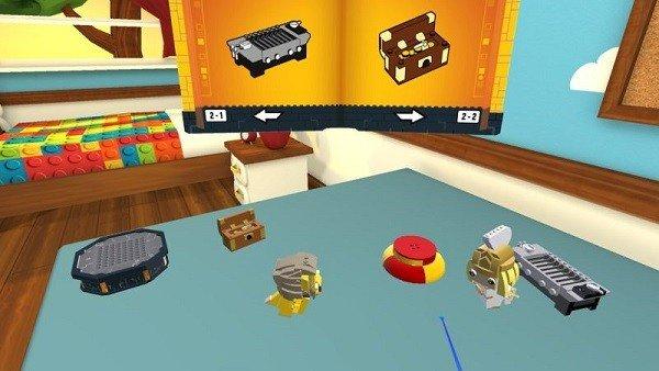 LEGO Brickheadz, el juego que permite construir en realidad virtual