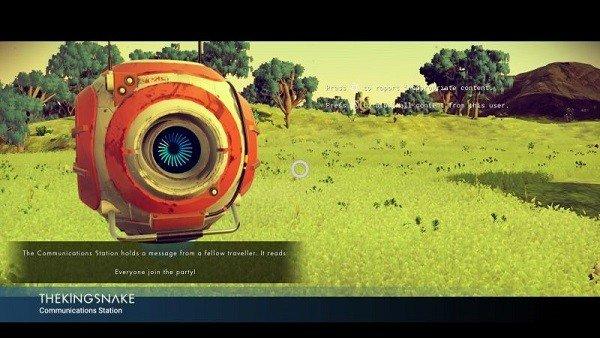 No Man's Sky: Los jugadores ya están encontrando mensajes de otros usuarios