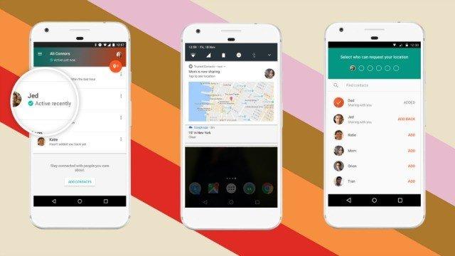 Google lanza Contactos de confianza, el sucesor de Latitude