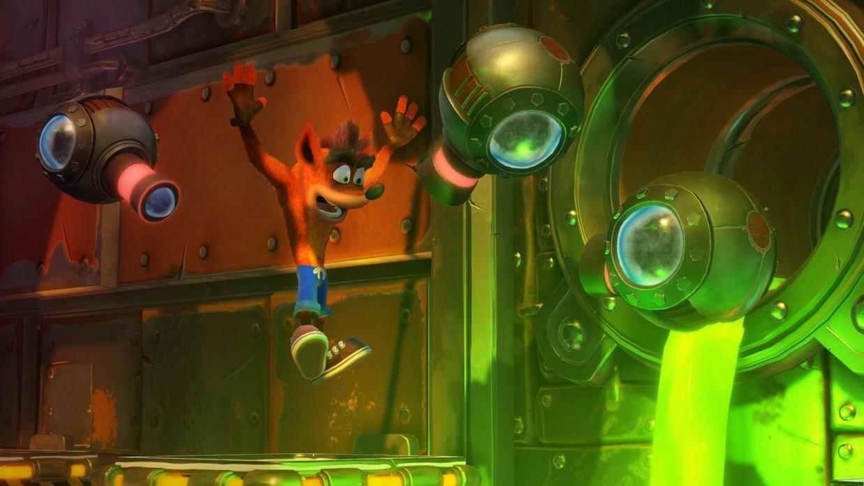Crash Bandicoot N. Sane Trilogy comparte un nuevo gameplay de 12 minutos