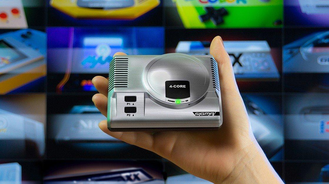 Una mini consola es capaz de reproducir juegos retro de 28 plataformas distintas