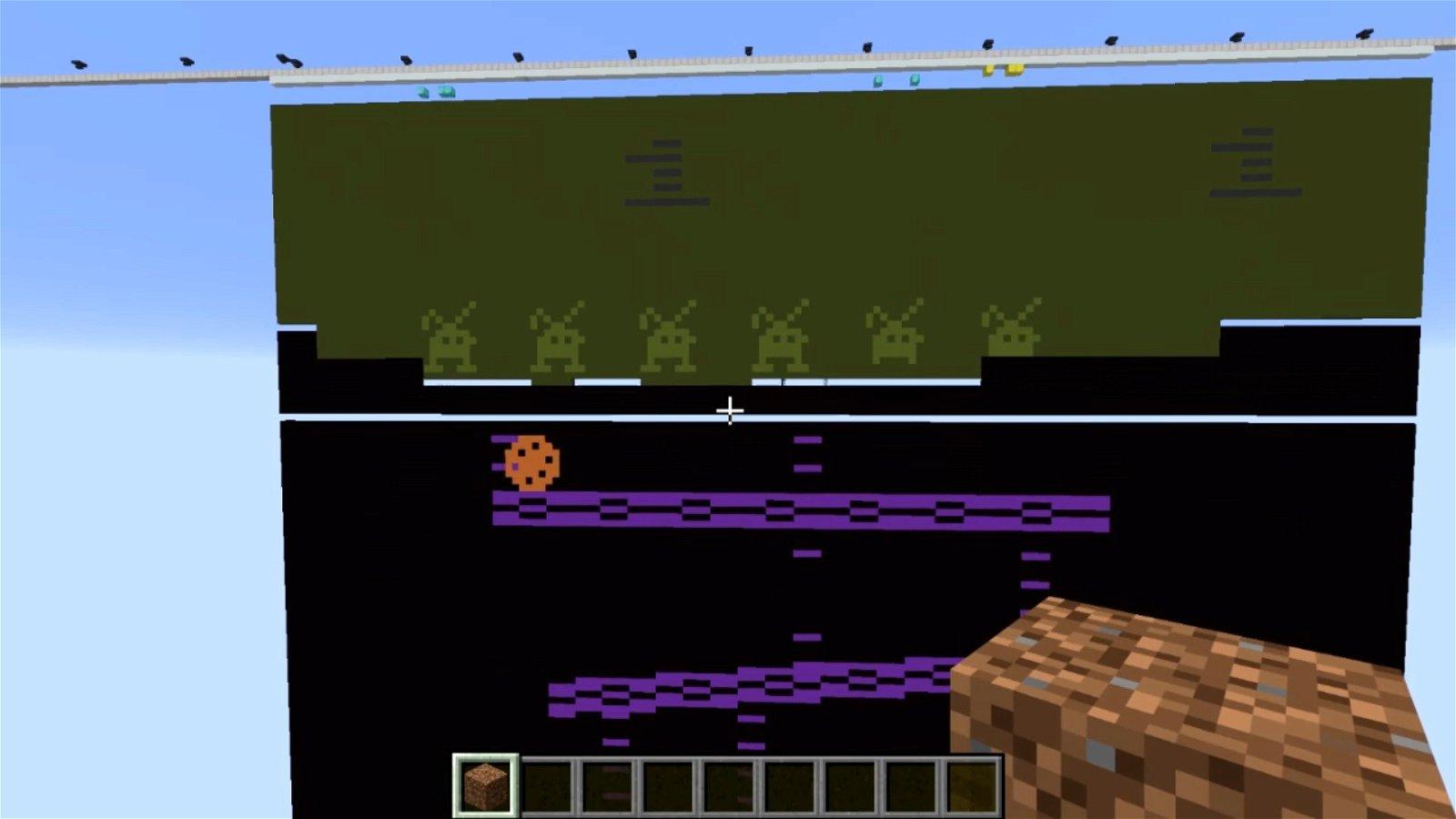 Construyen un emulador de Atari 2600 dentro de Minecraft