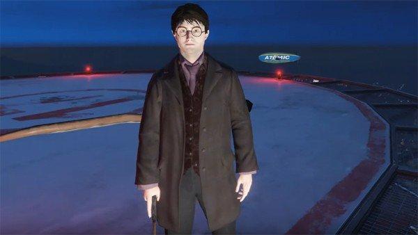 GTA V: Harry Potter llega a Los Santos con un nuevo mod
