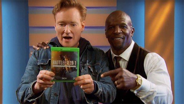Battlefield 1: Conan O'Brien juega al juego de Electronic Arts