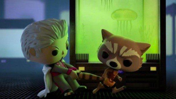 Marvel y Funko Pop presentan su segundo corto, inspirado en Guardianes de la Galaxia