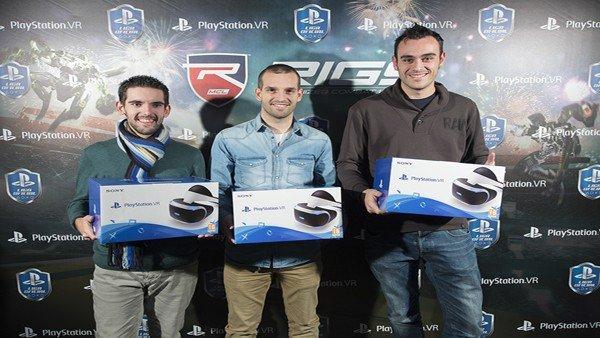 Liga Oficial PlayStation: Hoy ha tenido lugar el primer torneo eSports con PlayStation VR y RIGS: Mechanized Combat como protagonistas