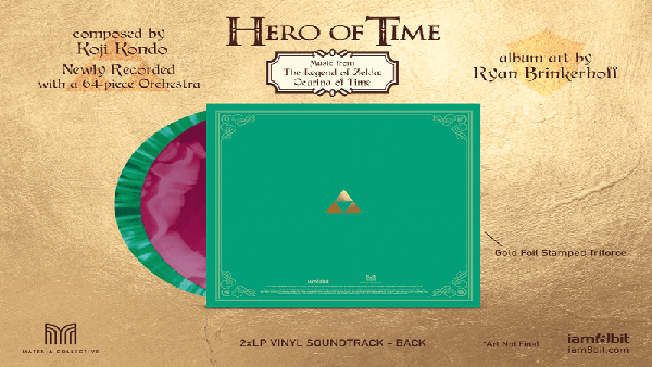 The Legend of Zelda: Ocarina of Time presenta su banda sonora en vinilo