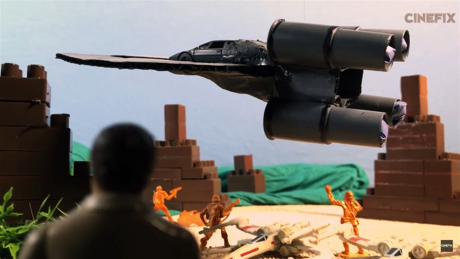 Star Wars: Rogue One: Recrean su tráiler plano a plano