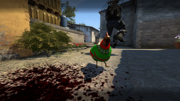 Counter Strike: Global Offensive devuelve los jerséis navideños a las gallinas