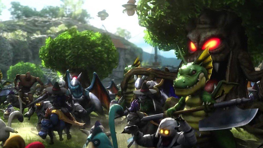 Dragon Quest Heroes II presenta a Ebanisto y Norris