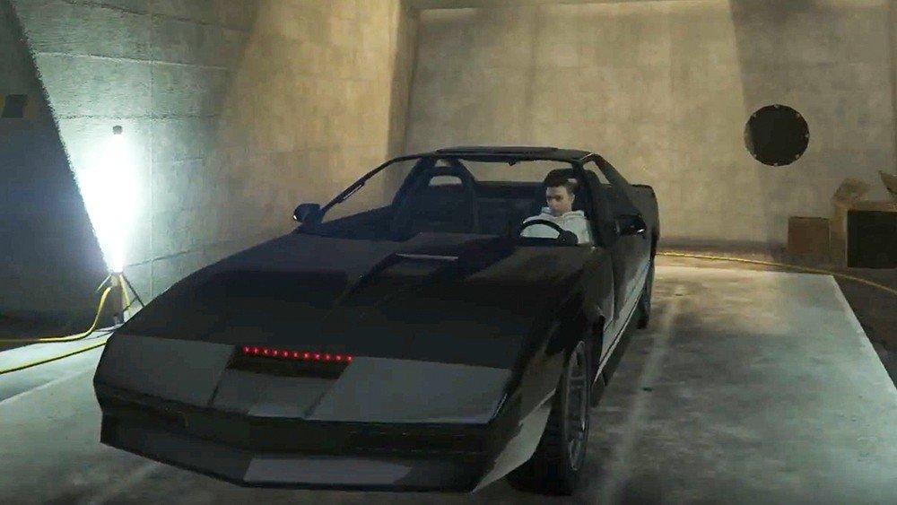 Grand Theft Auto Online añade a K.I.T.T., de El coche fantástico, con su última actualización