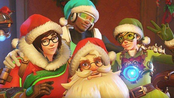 La Navidad llega a Overwatch en su nuevo evento