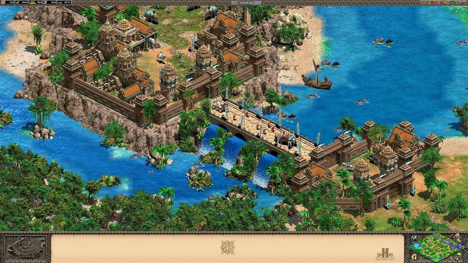 Age of Empires II HD contará con una nueva expansión