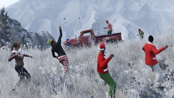 Grand Theft Auto Online: Se filtra parte del contenido navideño