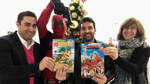 Deadpool visita Murcia en una edición especial de Marvel