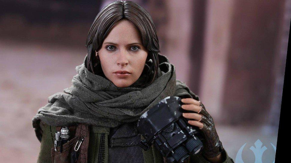 Rogue One: Jyn Erso tiene esta maravillosa figura