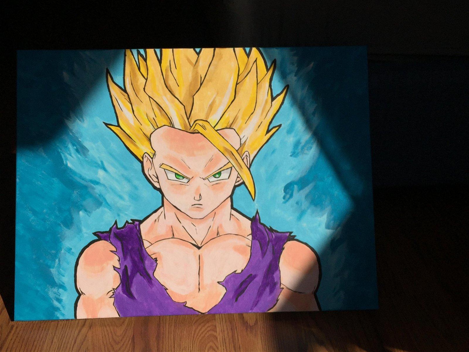Dragon Ball: Un artista muestra paso a paso un fanart de uno de sus personajes favoritos