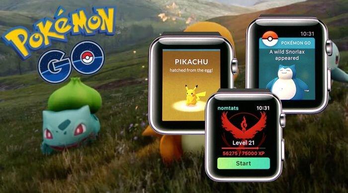 Pokémon GO aún tiene previsto lanzarse en Apple Watch