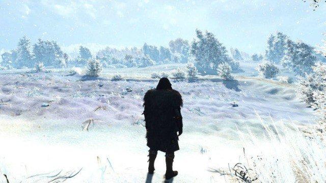The Witcher 3 se vuelve completamente nevado con este mod