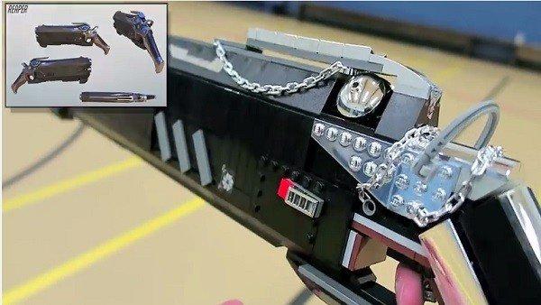 Overwatch: Crea las armas de Reaper con piezas LEGO