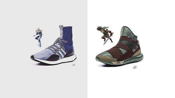 The Legend of Zelda: Proponen unos diseños de zapatillas inspirados en el juego