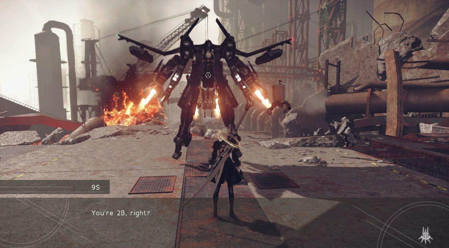 NieR: Automata estrena un nuevo gameplay donde se revelan nuevos escenarios del juego