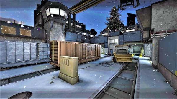 Counter Strike: Un mod incluye apariencia navideña en los mapas