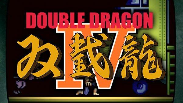 Double Dragon 4 se ha anunciado para PlayStation 4 y Steam