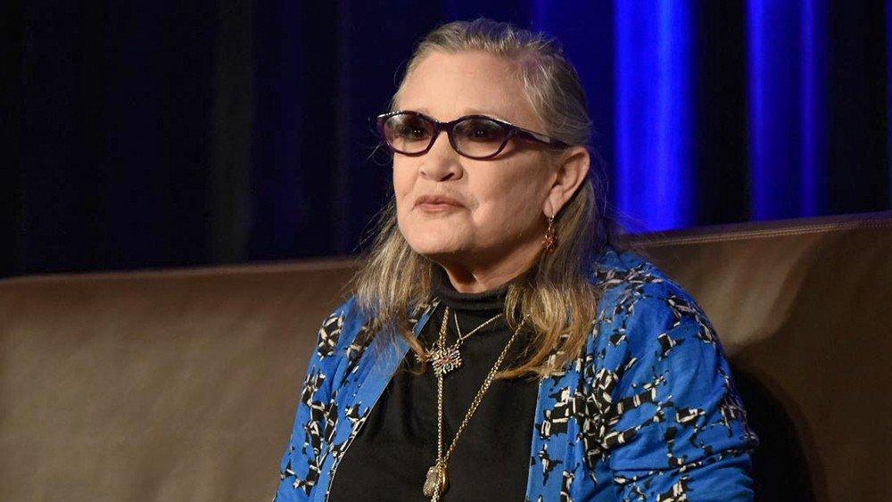 Las cenizas de Carrie Fisher descansan en una gigantesca cápsula de Prozac