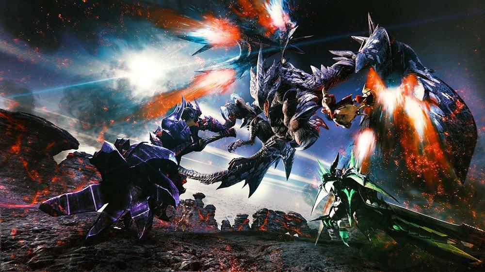 Monster Hunter XX también llegará a Nintendo Switch