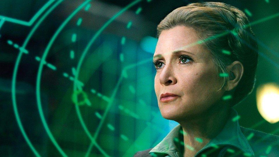Star Wars: Los Últimos Jedi: Primer vistazo a la Leia de Carrie Fisher