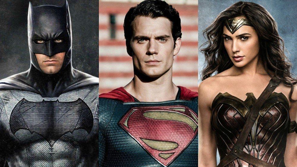 Batman, Superman y Wonder Woman serían así si combináramos a todos sus actores