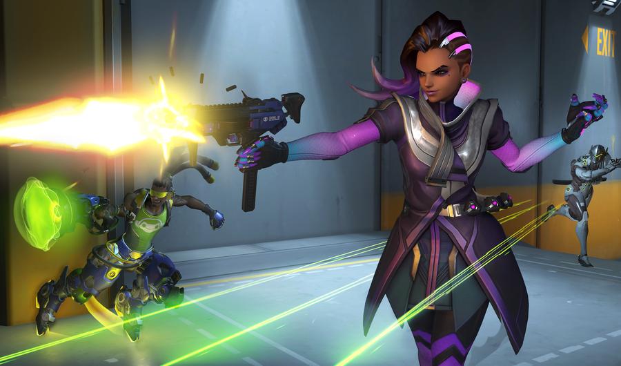 Overwatch: Sombra iba a tener otras habilidades de hacker muy interesantes