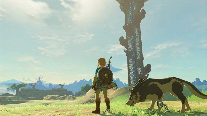 The Legend of Zelda: Breath of the Wild desvela el espacio que ocupará su versión física en Wii U