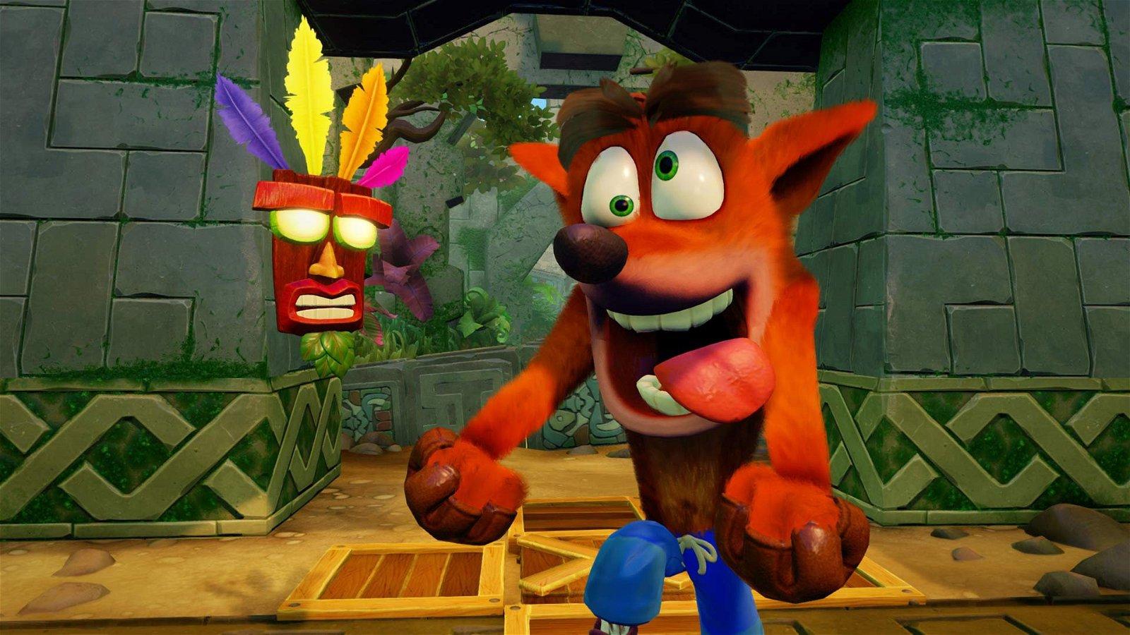 Crash Bandicoot N Sane Trilogy incluirá esta animación ganadora de su concurso