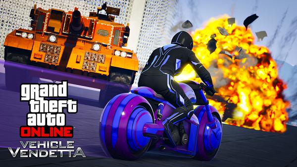 Grand Theft Auto Online recibe un nuevo modo de juego y una moto