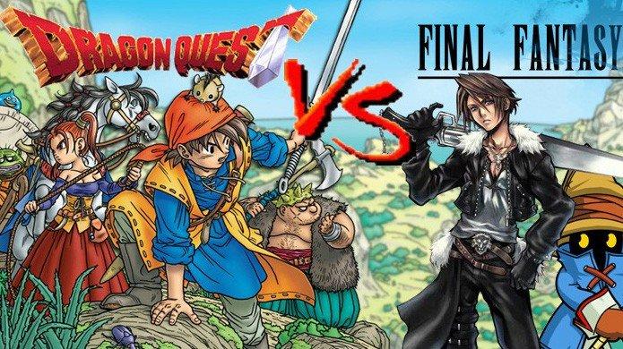 Final Fantasy es más popular que Dragon Quest en Occidente por el momento de su lanzamiento