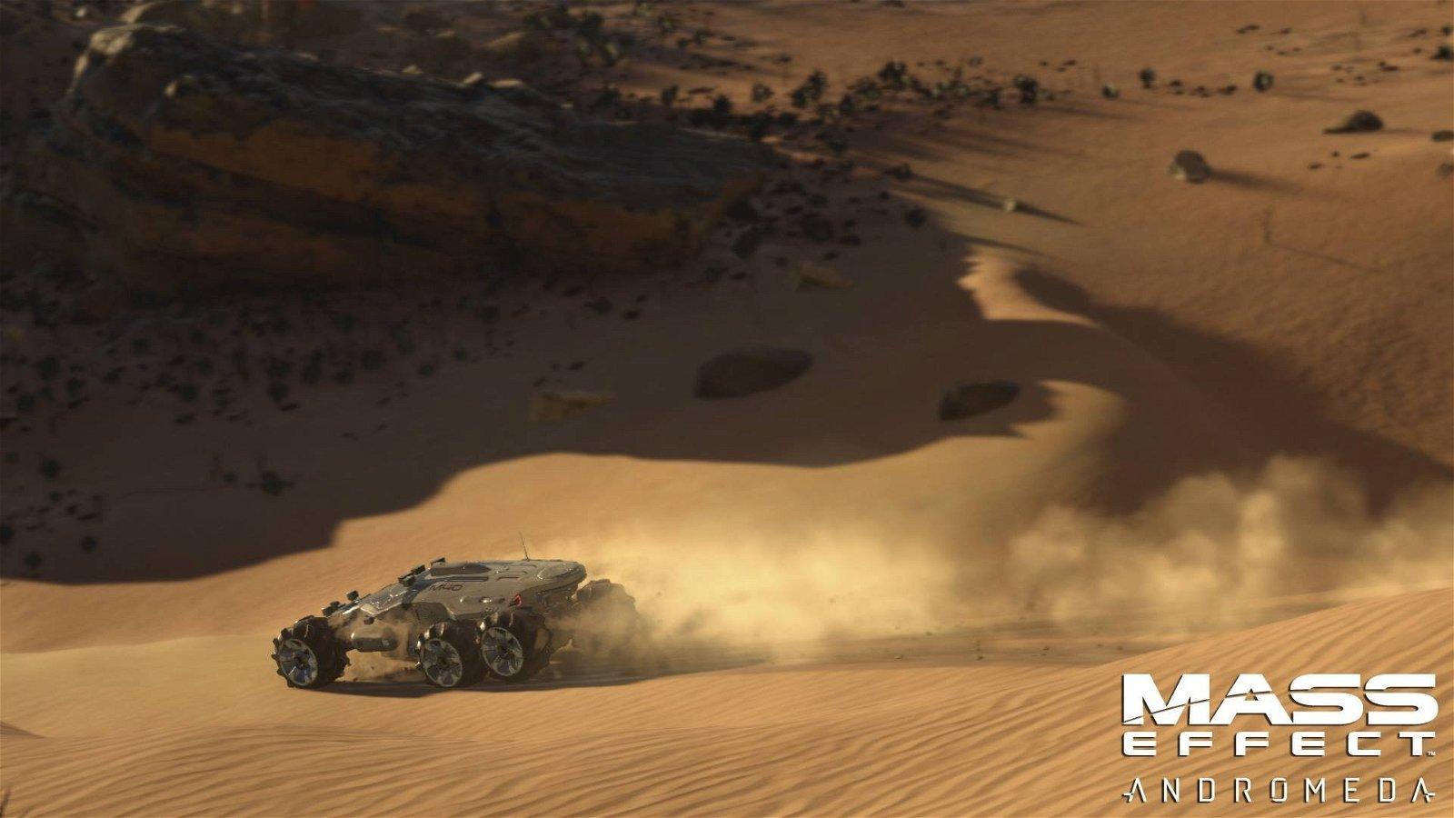 Mass Effect: Andromeda presenta el vehículo todoterreno Nomad en un nuevo vídeo
