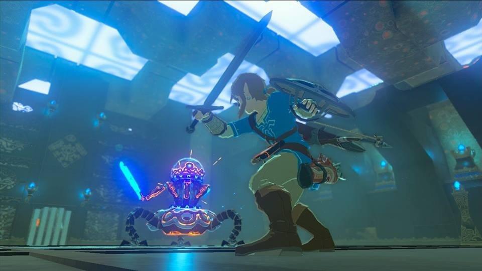 The Legend of Zelda: Breath of the Wild tiene un bug que impide conseguir el Casco del Trueno